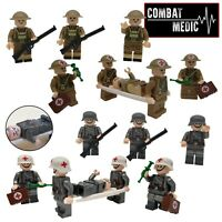 Army Normandy Landing Craft WWII Bricks Jeep fit lego Toy Soldiers D-Day U.S