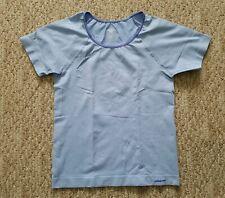 8d674c691f EUC Patagonia Girls Scoop Neck Short Sleeve Capilene Shirt Color Blue Size  Large