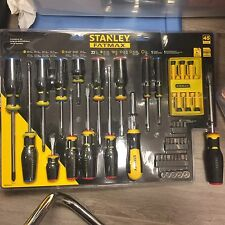 Stanley Fatmax Screwdriver Set 45 Pieces Brand New