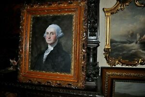Museum Quality Oil Painting of President George Washington
