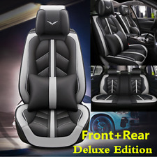 Comfortable PU Leather 5-Seat Car Seat Cover Cushion For Interior Accessories