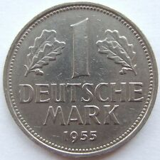 TOP! 1 DM 1955 G in VERY FINE / EXTREMELY FINE RARE