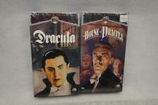 Dracula & House of Dracula VHS Tape NEW SEALED Classic Collection