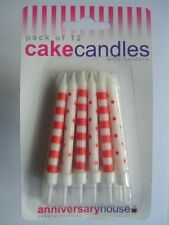 White All Occasions Cake Candles