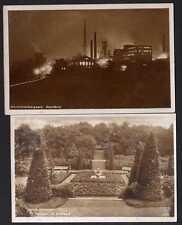 56405 2 AK Bochum Steinkohlenbergwerk Nachtbild 1942
