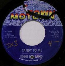 EDDIE HOLLAND - HEAR IT - ORIGINAL 1964 - CANDY TO ME / IF YOU DONT WANT MY LOVE