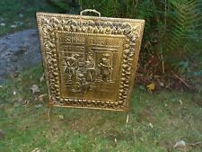 Vintage fire guard screen