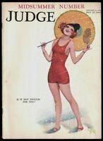 Hi-Grade Scarce Judge Magazine Complete Enoch Bolles Early Cover Jan.1925 Fine