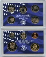 2002 United States Proof Set 10-Coin Collection US Mint OGP
