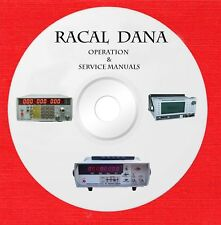 Racal Dana Owner and Service manuals on 1 CD in pdf format
