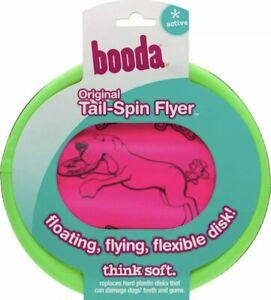 Booda Tail-Spin Flyer 10-Inch Lightweight Flexible Design Soft Frisbee Durable