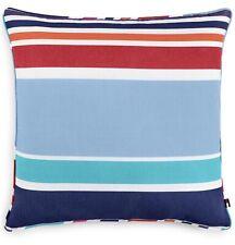 Tommy Hilfiger Dunmore Stripe Blue/Red Multi Stripe 20x20 Decorative Pillow