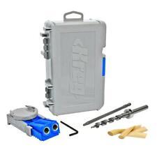 Kreg R3 Jr Pocket Hole Jig Joinery System Kit + Free Screws Tool