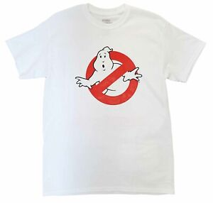 New Men's Ghostbusters Call Now Movie Slimer Vintage Retro White T-Shirt Tee