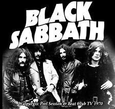 Black Sabbath - walpurgis: John Peel & Beat Club TV 1970 - CD rare!
