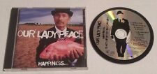 Our Lady Peace - Happiness Is Not a Fish That You Can Catch (CD, Sep-1999, Sony