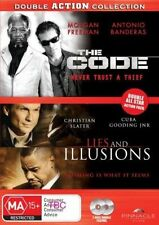 Double Action Collection The Code / Lies and Illusions DVD PAL Region 4