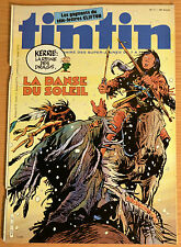 BD Comics Magazine Hebdo Journal Tintin No 11 38e 1983 Adieu Hergé
