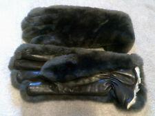 Leather Winter Vintage Gloves
