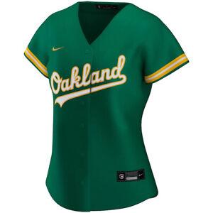 Brand New 2021 MLB Oakland Athletics Nike Women's Alternate Replica Jersey NWT