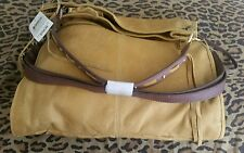 Lucky Brand NWT Beautiful Diego Leather. Yellowstone Fold Over Bag.