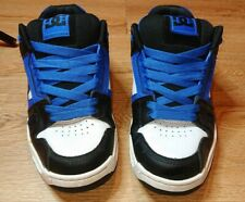 DC Shoes Stag Blue White Black Trainers Mens Size 9 UK