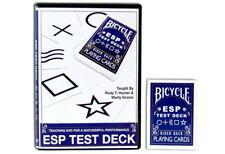 Magic Makers Bicycle Esp Test Deck Dvd Rudy Hunter Trick