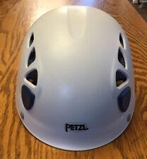 Petzl Elios Climbing Helmet - White - Size 1 (Blue Accents) Climb