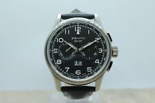 ZENITH PILOT BIG DATE 03.2410.4010 STAINLESS STEEL GENTS WRISTWATCH