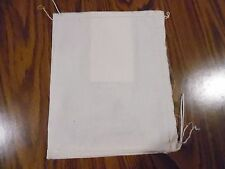10 (8x10) Cotton Muslin Drawstring Mail Bags with Tag!