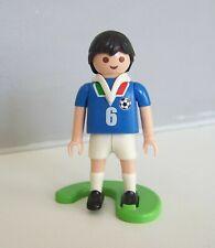 PLAYMOBIL (V5232) SPORT - Football Equipe Nationale Italie + Support 4712