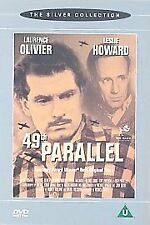 THE 49TH PARALLEL GENUINE R2 DVD LAURENCE OLIVIER LESLIE HOWARD VGC