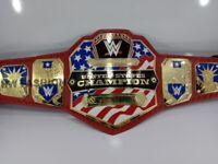 "US United State Wrestling Championship Belt Replica ""Replica Wrestling Belts WWE"
