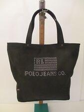 Polo Ralph Lauren Womens Black Handbag Bag Polo Jeans Co. NWOT