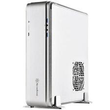 Silverstone FTZ01S-E (Silver) Fortress Mini-DTX/ITX Premium Slim Case
