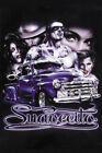 """Suavecito"" Beautiful Girls Lowrider Car Truck Latino Urban Street Art Poster"