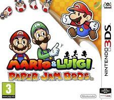 Mario & Luigi Paper Jam Bros. Nintendo 2DS & 3DS * NEW SEALED PAL *