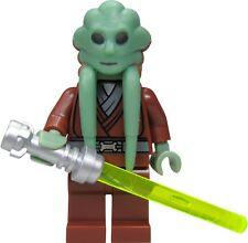 LEGO STAR WARS KIT FISTO MINIFIG JEDI NEW FROM SETS 7661 8088 CLONE WARS SERIES