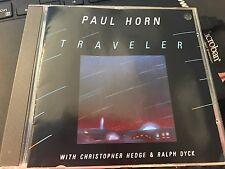 """Paul Horn """"Traveler"""" IMPORT cd West Germany Kuckuck"""