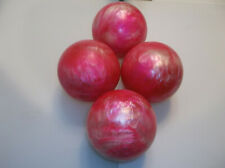 Candlepin Balls/REFINISHED/Epco Starlines/4 Ball Set/2lbs 6.10oz/Perfect Cond