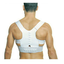Magnetic Therapy Posture Corrector Bad Back Support Lumbar Belt Brace For Men