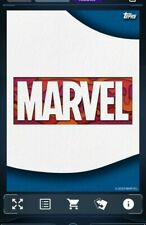 Topps Marvel Collect: Crafted Paper Ticket- 8 cards-digital card