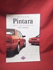 NISSAN PINTARA TRX ADVERTISING BROCHURE SALES BOOKLET NISMO CA20 B44