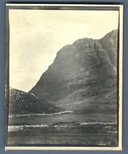 UK, Scotland, Glencoe  Vintage silver print.  Tirage argentique  10,5x13,5