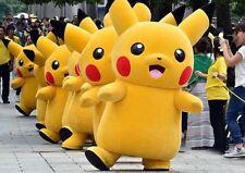 Pikachu Cartoon Character Costume mascot cosplay