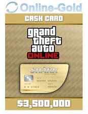 3500K$ Grand Theft Auto Online CashCard Great White Shark - GTA V PC - FR