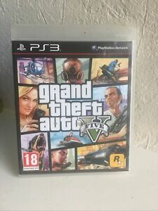 Grand Theft Auto V GTA 5 FIVE Sony Playstation 3 PS3