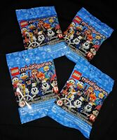 NEW SEALED 4 X Blind bag Lego Disney Series 2 Minifigure 71024 COLLECT ALL 18
