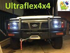 GQ MQ Y60 PATROL 2X 7'' 130W *LEGAL* Round LED DRL Headlights