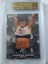 Amanda Nunes True 1/1 RC bgs 9.5 Topps UFC Bloodlines 2013 double champ Rookie